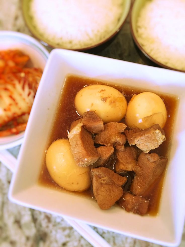 Thit Kho Trung (Vietnamese Pork and Eggs in a Caramelized Fish Sauce)