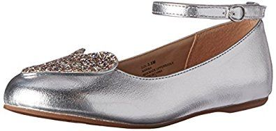 Hanna Andersson Girls' Marika Mary Jane, Silv... by Hanna Andersson http://amzn.to/2g228aW