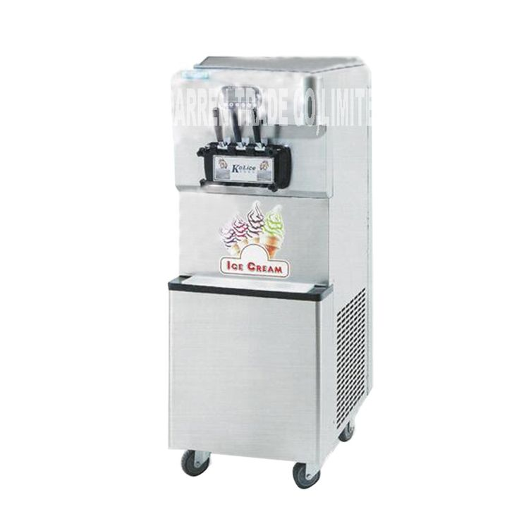 1740.88$  Buy here - http://alilnd.shopchina.info/1/go.php?t=32802707449 - Softy Ice Cream Making Machine Commercial Steel Soft Serve Ice Cream Machine 220V/110V 3800W 55-60L/H ICM-378 ice cream machine 1740.88$ #magazine
