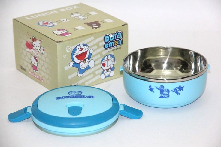 Lunch Box 1 Layer Doraemon Rp 115.000