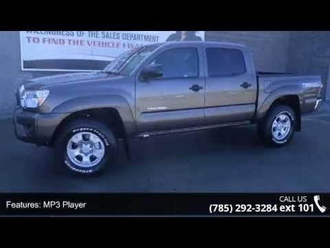 2015 Toyota Tacoma V6 - Lewis Toyota - Topeka, KS 66614  This do-anything Tacoma seeks the right match.. This is the vehicle for you if you're looking to get great gas mileage on your way to work!! 4 Wheel Drive!!!4X4!!!4WD** Won't last long!! New Arrival**