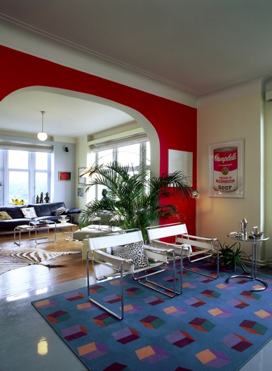 Renovated Art Deco House Via OWI // Office For Word And Image | Art Deco  Miniatures | Pinterest | Art Deco House, Art Deco And Red Rugs