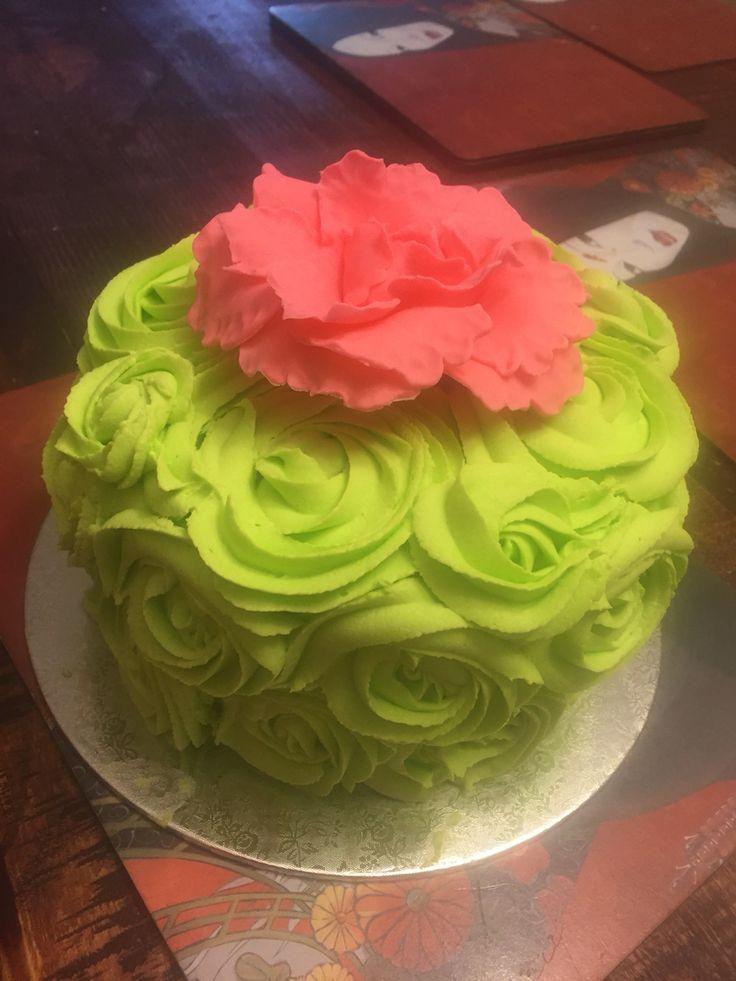Georgia's 18th birthday cake