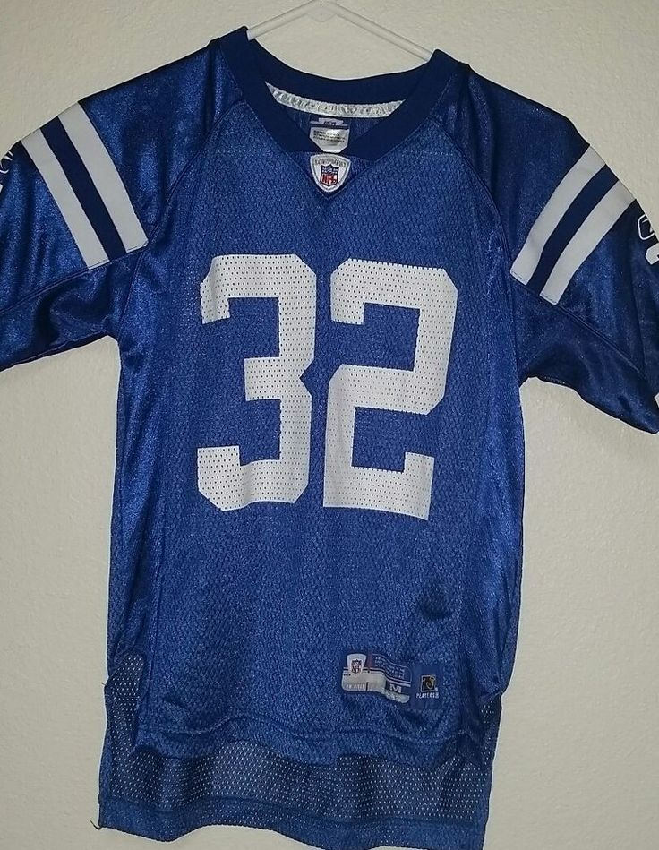 Vintage Indianapolis Colts Jersey Edgerrin James Child Size 10-12 authentic NFL #IndianapolisColts