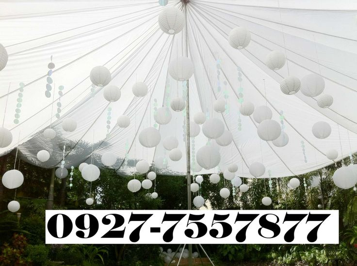 Parachute wedding tent                                                                                                                                                     More