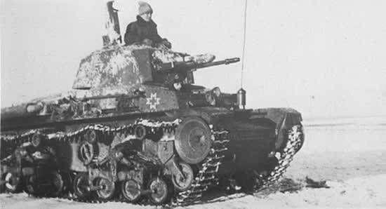 Romanian r-2 tank