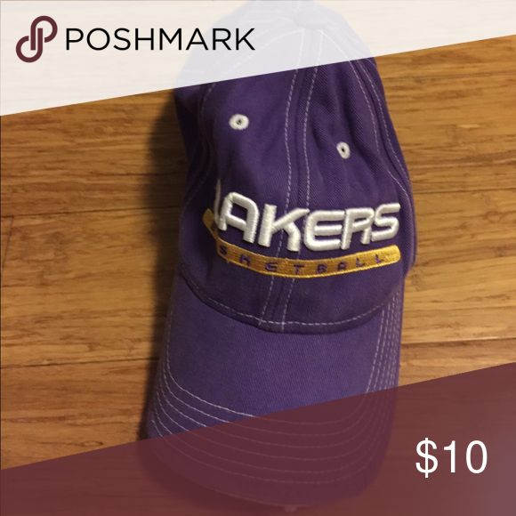 LA Lakers Hat 5/10 condition lakers hat adidas Accessories Hats