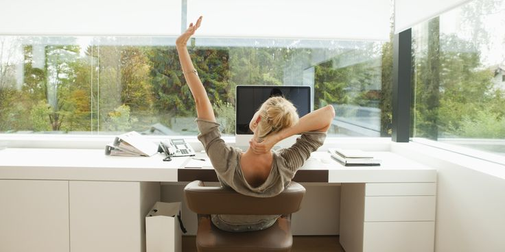 5 Office Yoga Poses That Won't Freak Out Your Coworkers