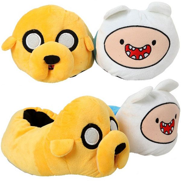 Adventure Time Finn and Jake Slippers $19.50