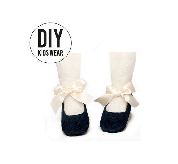 PDF patterns mary jane - DIY patterns baby shoes - pattern newborn shoes - DIY…