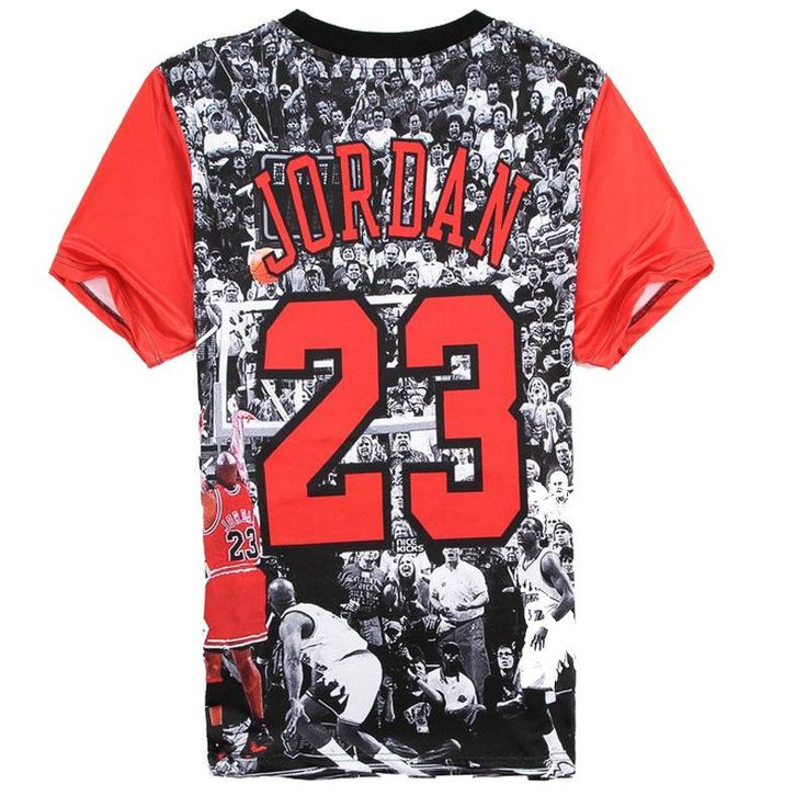 Are you a proud Michael Jordan fan? - This is perfect for any Michael Jordan Fans! - While Supplies Last! Limit 10 Per Order Please allow 4-6 weeks for shipping Item Type: Tops Sleeve: Short Neckline: