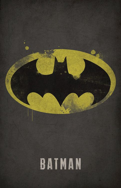 batman minimlist poster - west