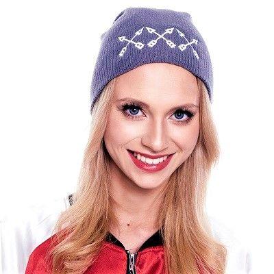 Czapka beanie XXX szara  #czapkazimowa #czapka #beanie #ona #streetwear #funandrebel #zima #chowajuszy #ogrzejsie #miss #blond