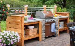 Build an Outdoor Kitchen