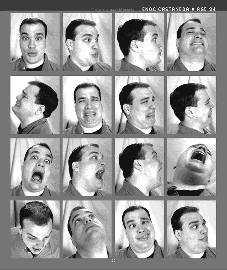 Expresiones faciales de mark simon