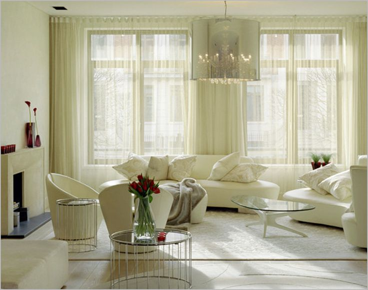 Amazing Interior Design And Living Room Drape Curtain Design Ideas