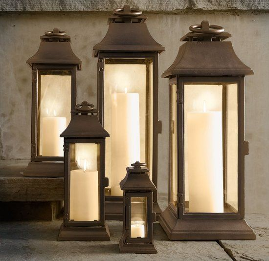 Set the mood with lanterns - Patio Decorating Tips