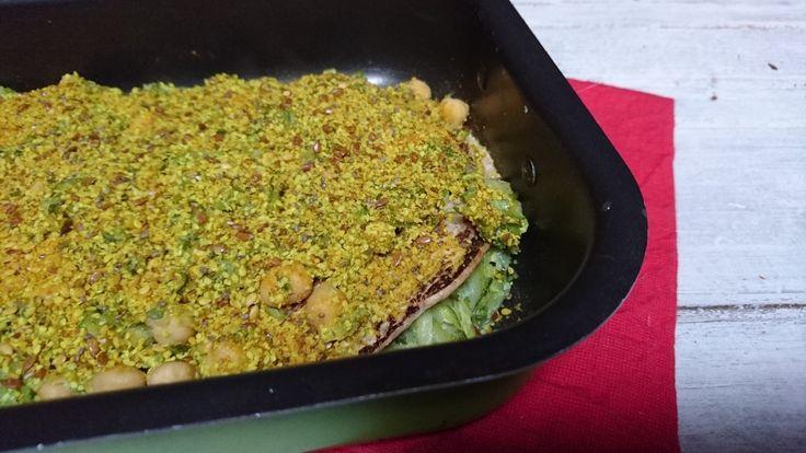 lasagne veg di zucchine e ceci