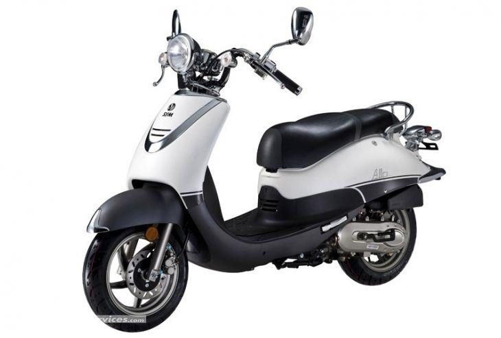 Présentation du scooter 125 Sym Allo 125