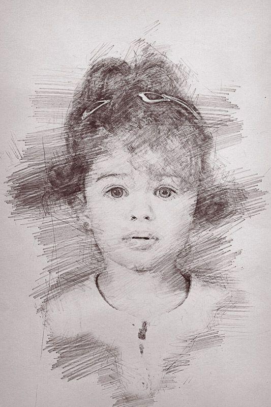 Focení pro základní a mateřskou školu - Kreslený portrét více info: www.karelfiala.cz/skolni-fotograf