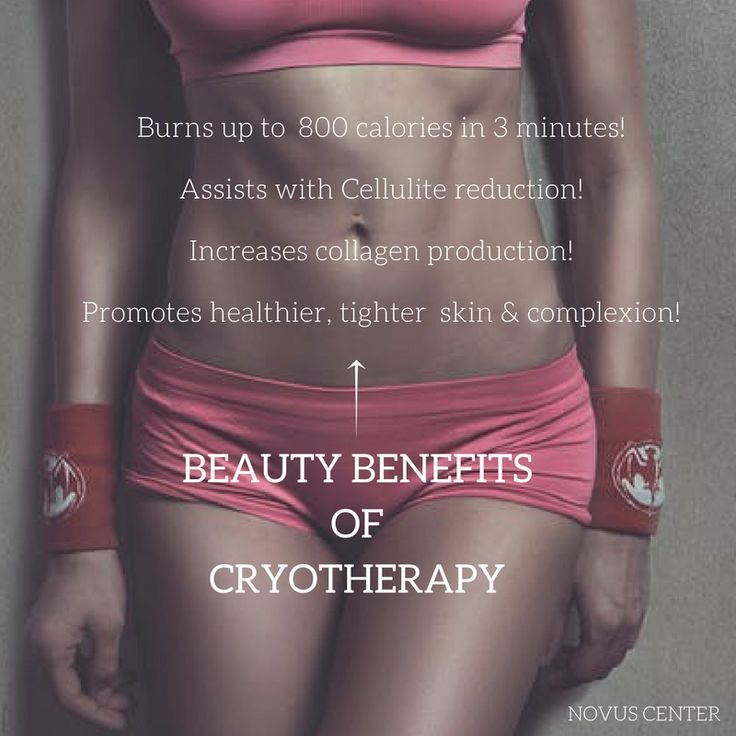 The beauty benefits of #Cryotherapy are endless! #NovusCenter