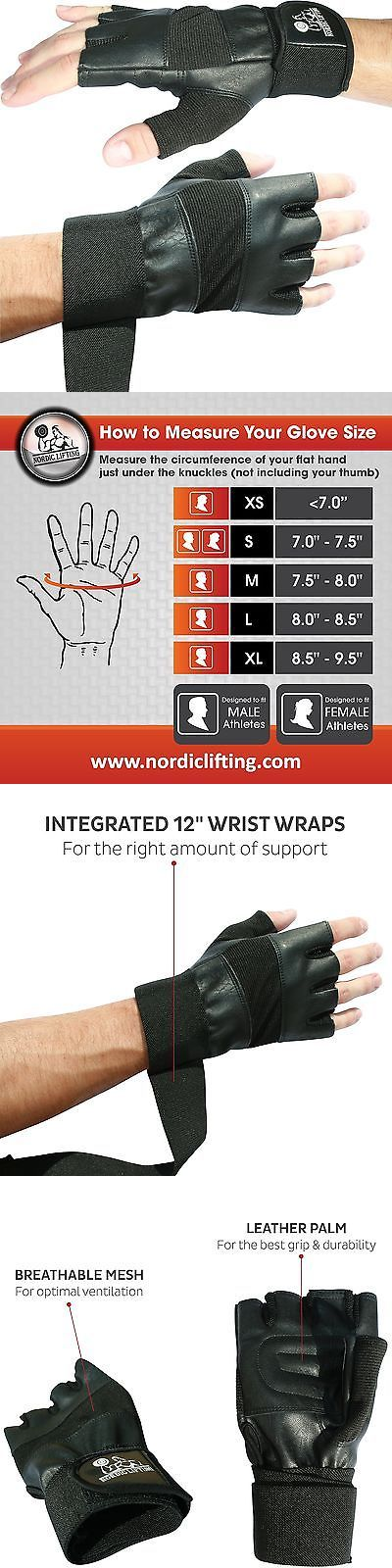 Gloves Straps and Hooks 179820: Weight Lifting Gloves With 12 Wrist Wraps Support For Gym Workout Cross Trai... BUY IT NOW ONLY: $30.59