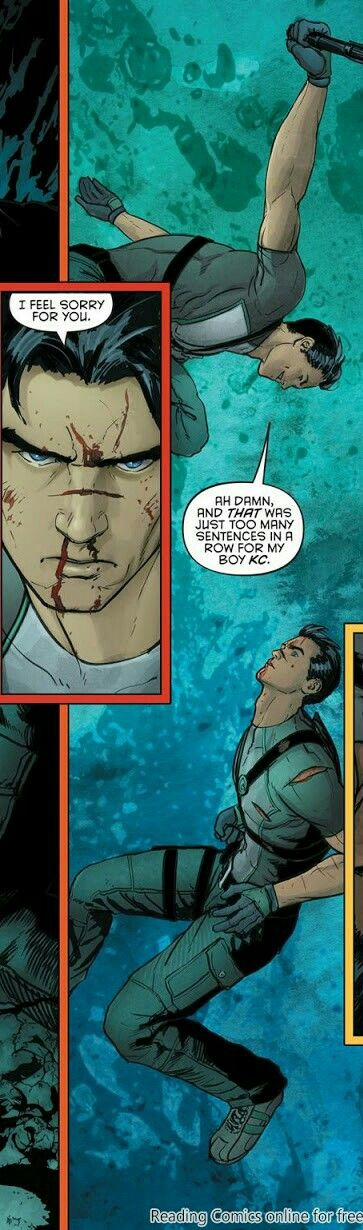 Grayson 11. Dick Grayson. Agent 37. Spyral.