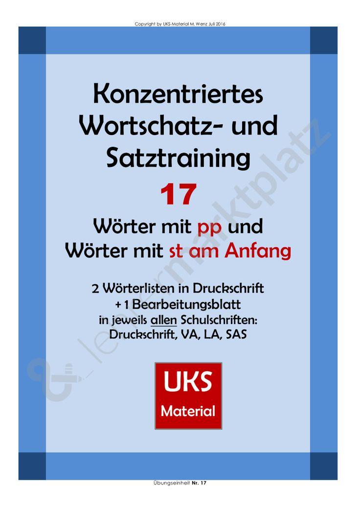 155 best UKS-Material images on Pinterest | Deutsch, Schreibschrift ...