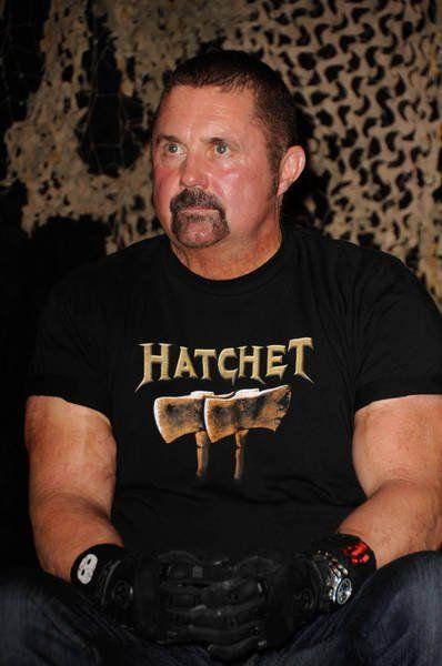 Kane Hodder is Jason Voorhees