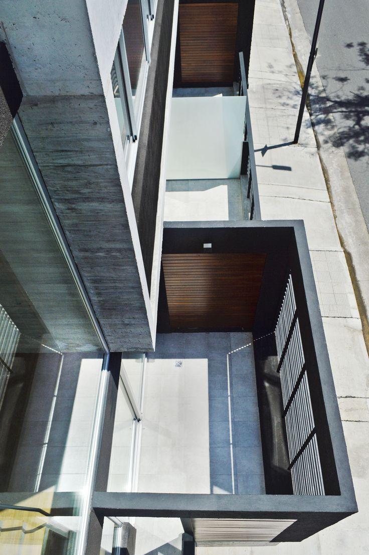 Urban Style Pampa - F2M Arquitectos - Balcones sobre Mariano Acha +Info: www.f2mstudio.com.ar