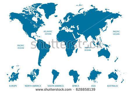 Mejores 660 imgenes de maps en pinterest mapas mapas del mundo y image result for europe asia africa proportion map gumiabroncs Images
