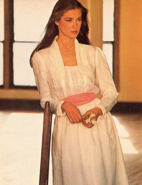 Model Clotilde In Ralph Lauren, my going away outfit, 1982 ...