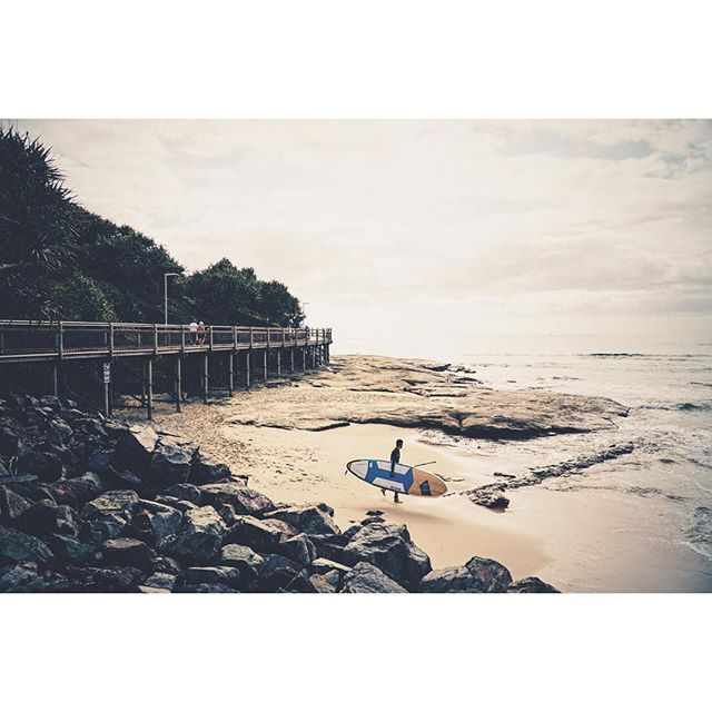 Enter the fray at Caloundra #thisisqueensland by @evankokphotography