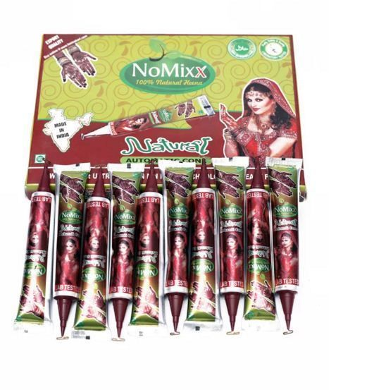 Natural henna tubes without any chemical 100% organic first time in tube packing #Golecha