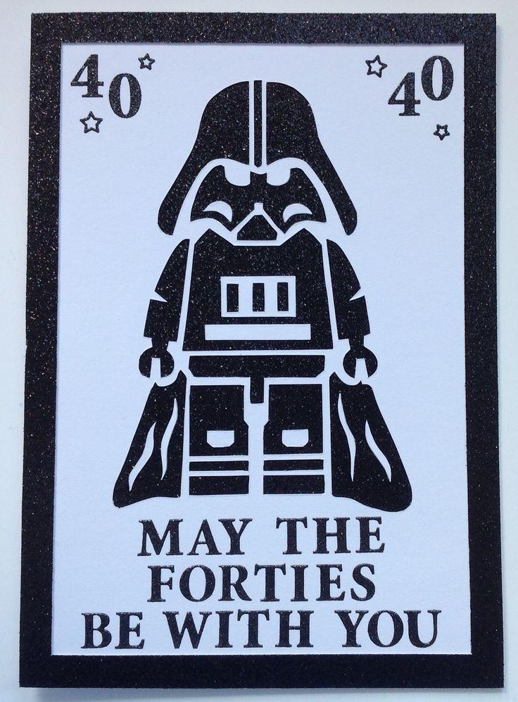 Star Wars 40th Birthday Card