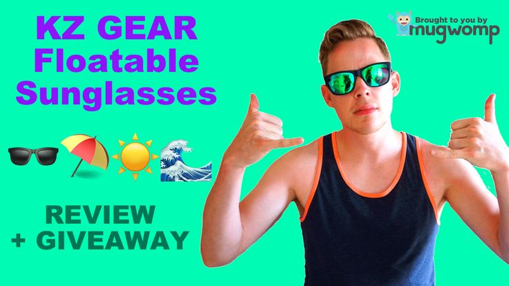 We're partnering with our friends at KZ Gear to giveaway some floatable sunglasses 🕶 We went to Charleston, SC to test out these bad boys in the big Atlantic Ocean waves. Checkout how these floatable sunglasses worked!