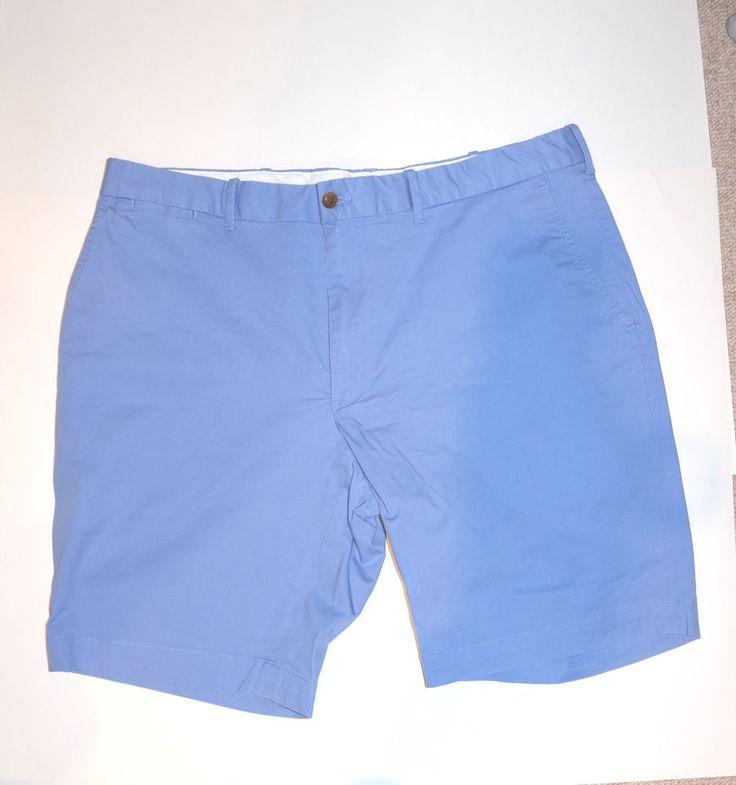 Ralph Lauren Shorts Light Blue Mens Cotton 36Inch Waist Size: M