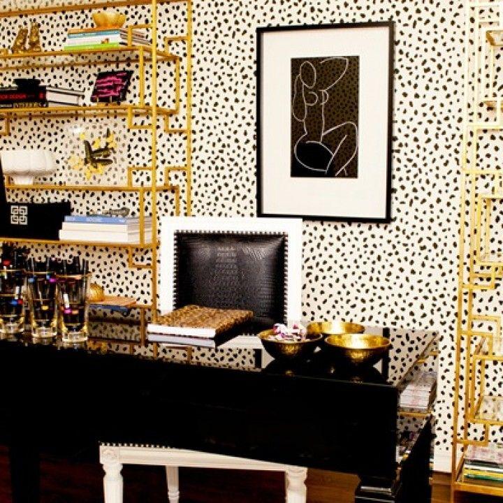 1000+ Ideas About Polka Dot Wallpaper On Pinterest