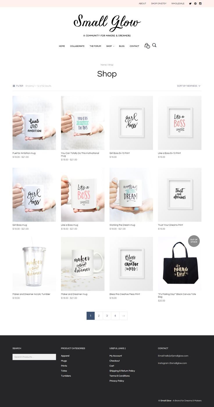 The story of Small Glow, a cute little motivational shop built with Mr Tailor WordPress theme https://www.getbowtied.com/small-glow-motivating-creative-people-mr-tailor-customer-stories/?utm_source=pinterest.com&utm_medium=social&utm_content=small-glow&utm_campaign=customer-stories #onlineshop #inspirational #webdesign #wordpress #motivational #customer #stories #testimonials #ecommerce