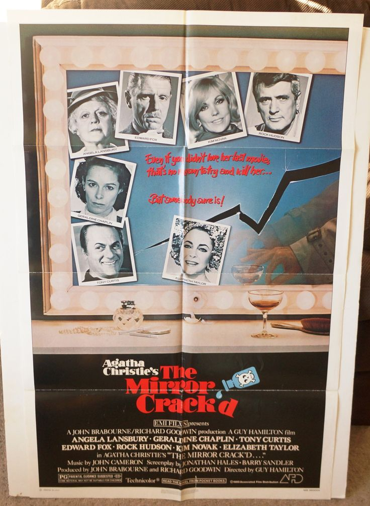 Excited to share the latest addition to my #etsy shop:  The Mirror Crack'd       1980 Original Movie Poster One-Sheet   Elizabeth Taylor,  Kim Novak,  Rock Hudson, Tony Curtis http://etsy.me/2tzkAiW