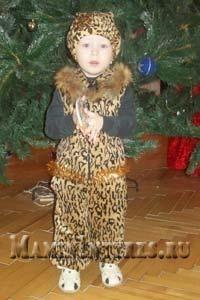 Костюм леопарда детям своими руками