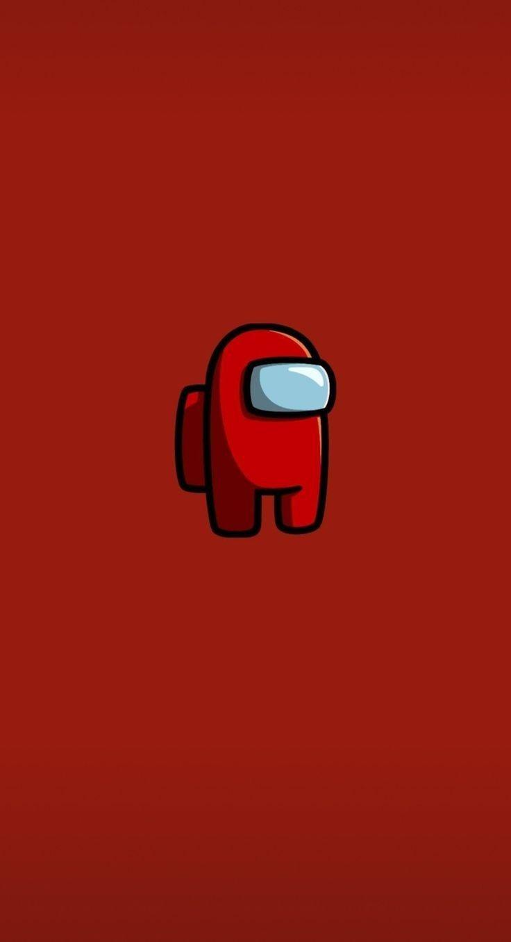 Among Us Red Cartoon Wallpaper Iphone Iphone Background Wallpaper Iphone Wallpaper Tumblr Aesthetic