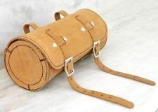 Leather Comfortable Soft Vintage Bicycle Saddle pouch bag Tool bag Tail Box