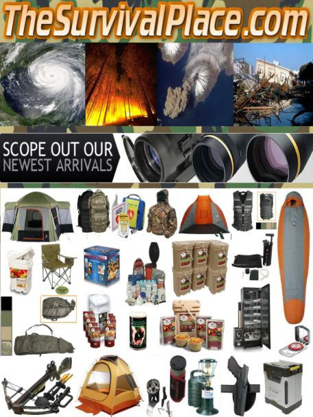 * Prepping and Survival Gear 10-50% Off Everyday *