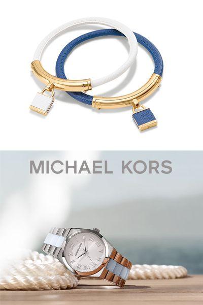 Como resistir à originalidade dos novos relógios Michael Kors e às pulseiras em cabedal colorido que invocam o verão.