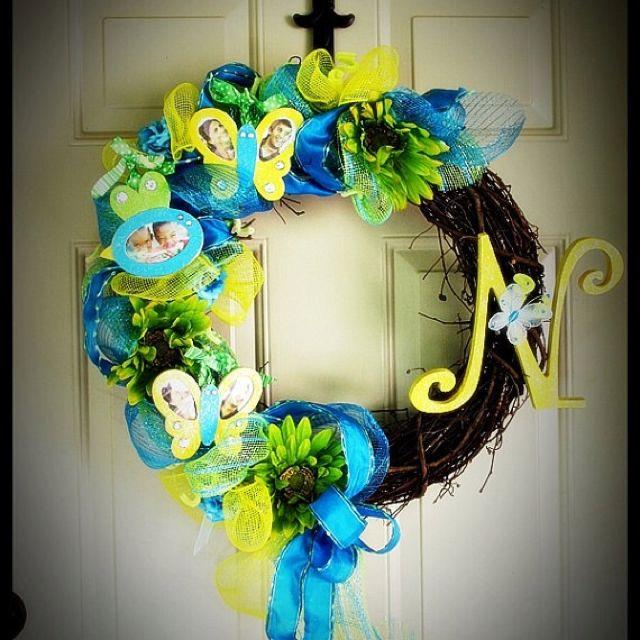 Spring wreath | Craft Ideas | Pinterest | Wreaths, Wreaths