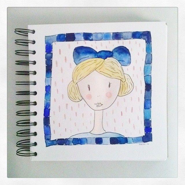 Ciao bella! #watercolor #illustration #art #artwork #girl #woman #hair #bun #fashion #draw #drawing #sketch #sketching #sketchbook #blue #sea #yellow #blonde #livingoutloud #Livingoutlouddesign #artistoninstagram #aquarel #artist