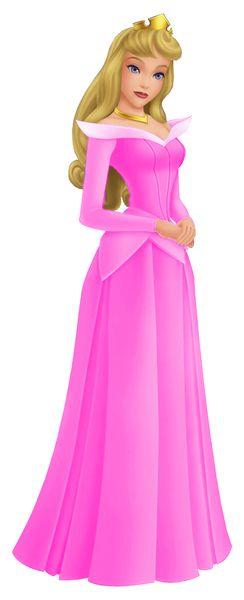 Aurora in pink