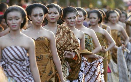Batik Carnival in Solo,Indonesia