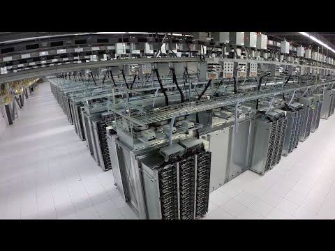 Inside a Google data center - Google gives a sneak peek | #google #servers #datacenter